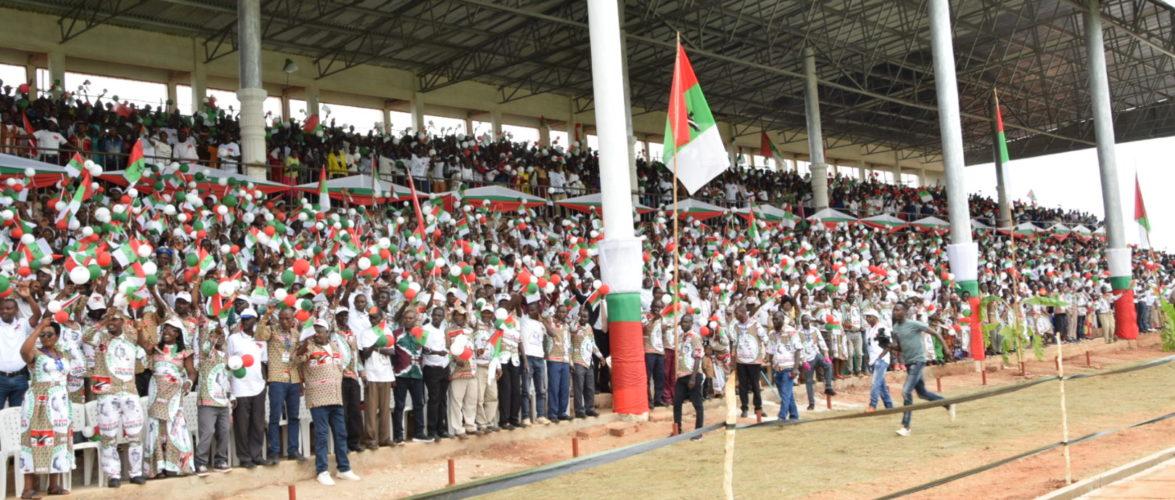 Campagne Elections2020 15ème jour : Le CNDD-FDD était à MAKAMBA, Peace Park Complex / Burundi