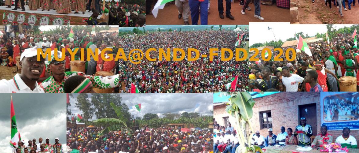Elections 2020 :  MUYINGA,  au cœur des coulisses d'une victoire annoncée du CNDD-FDD au Burundi – Exemple les BAGUMYABANGA de MUYINGA