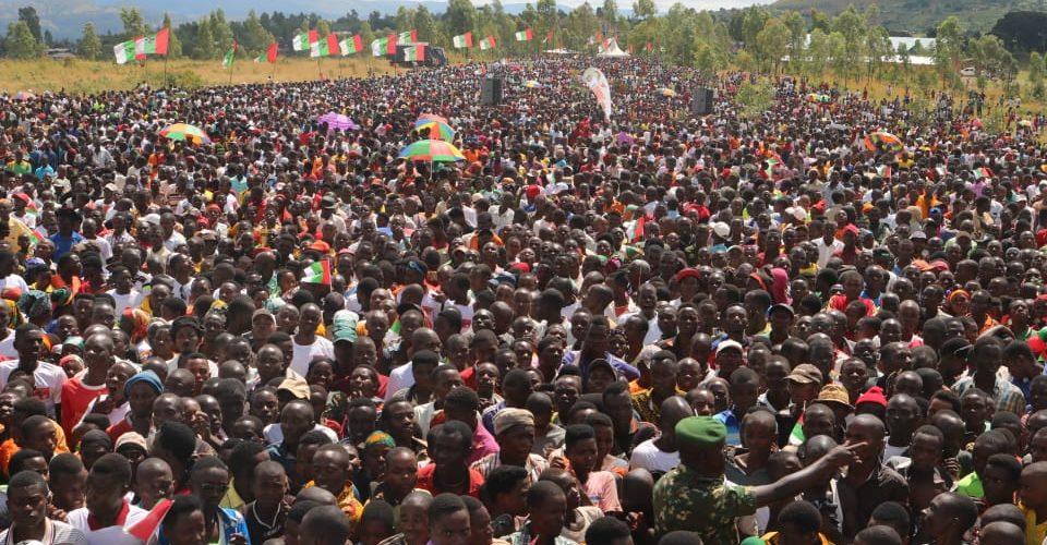 Campagne Elections2020 – 11ème jour : Le CNDD-FDD était à GISURU, RUYIGI / Burundi