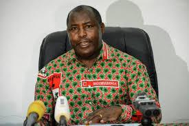 Le Général Evariste Ndayishimiye reçoit des messages de félicitations