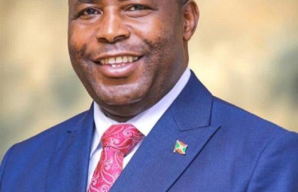 SE Le Gnl Maj Evariste Ndayishimiye :President de la République du Burundi