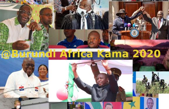 BURUNDI /  1- Petit tour sur l'actualité sur KAMA ou l' AFRIQUE , AFRICA – JUIN 2020