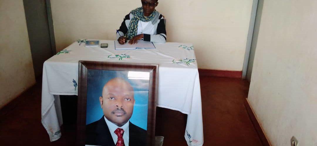 Un livre de condoléances à Feu NKURUNZIZA à CANKUZO / BURUNDI