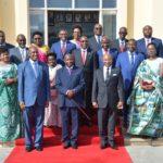 La photo du nouveau gouvernement du Burundi - NDAYISHIMIYE 1er