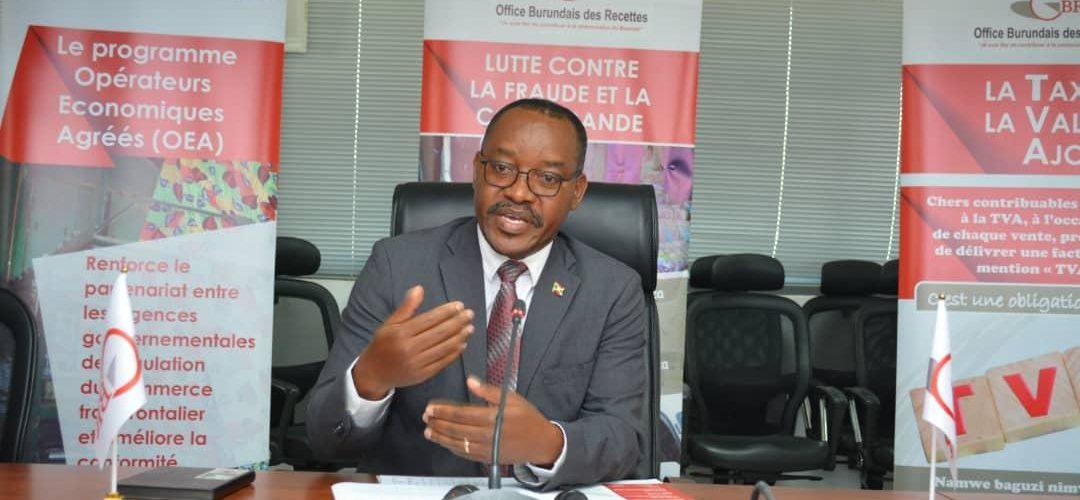 Office Burundais des Recettes :  1,2 Millions USD récupérés sur 18 dossiers de fraude fiscal / BURUNDI