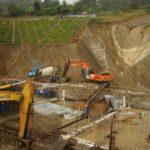 Le barrage RUZIBAZI produira 15 MW d'énergie électrique, RUMONGE / BURUNDI