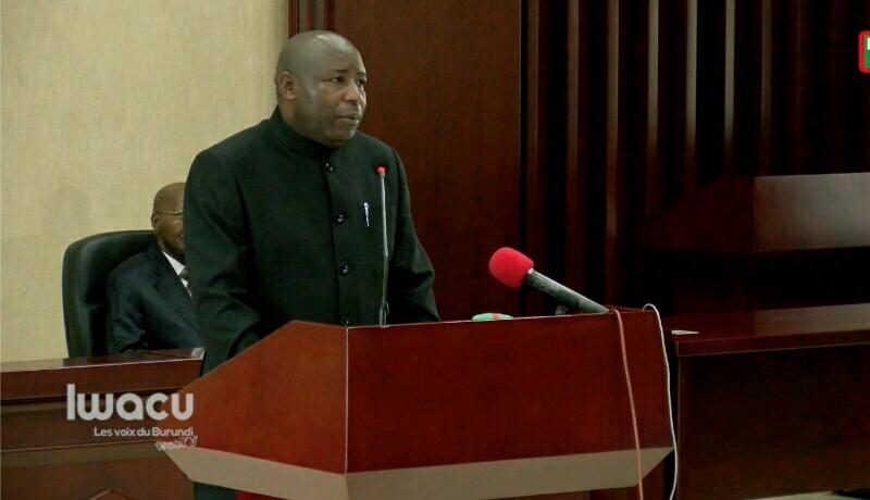 Décès du ''Guide suprême'' : « Ce que nous traversons aujourd'hui est la volonté divine », dixit Evariste Ndayishimiye