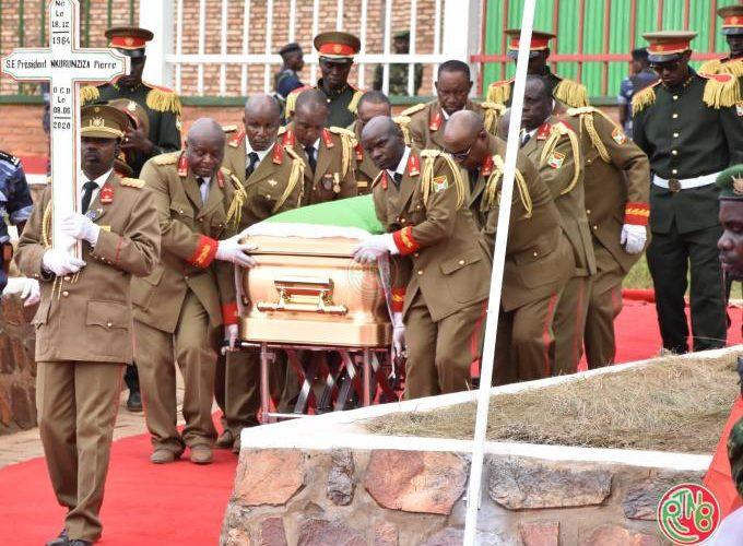 Inhumation de feu Président Pierre Nkurunziza