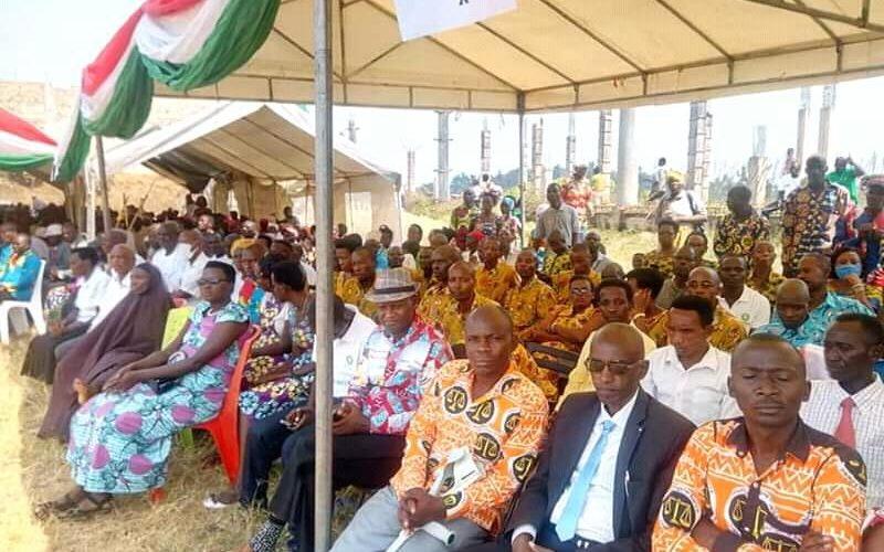 Commémoration du 58 ans d'indépendance à BUBANZA / BURUNDI