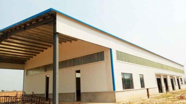 L'abattoir moderne de MUZINGA à BUBANZA en construction depuis 2018 / BURUNDI