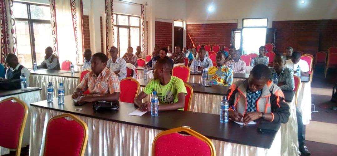Atelier sur le rôle des média en période post- électorale, GITEGA / BURUNDI