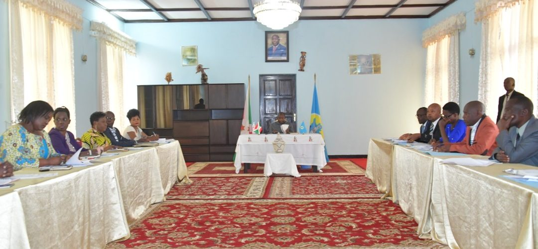 Session du Conseil Supérieur de la Magistrature / BURUNDI