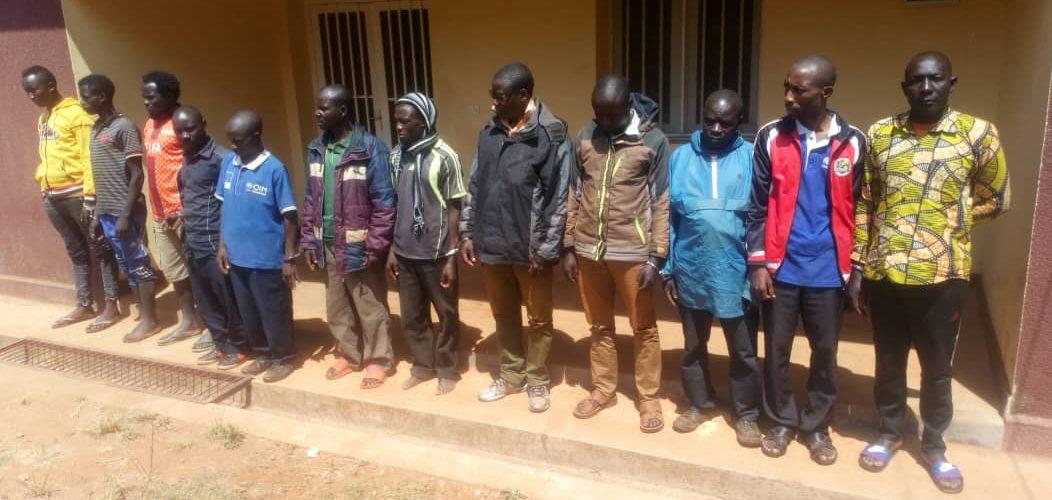 12 brigands extorqueurs de rapatriés arrêtés à MAKAMBA / BURUNDI