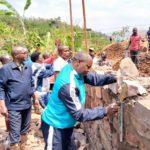 TDC - Construire un barrage d'irrigation à GIHOGAZI, KARUSI / BURUNDI