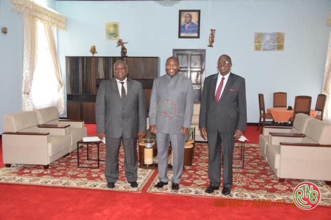 Gitega: le Président de la République reçoit en audience différentes personnalités