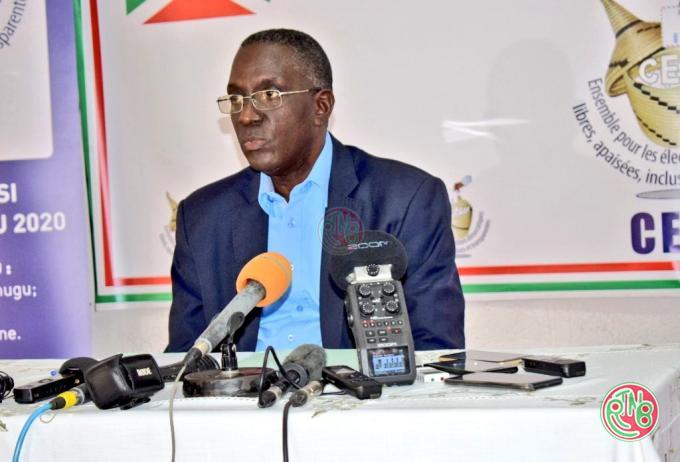 La CENI informe sur l'état des lieux du processus des élections sénatoriales et collinaires