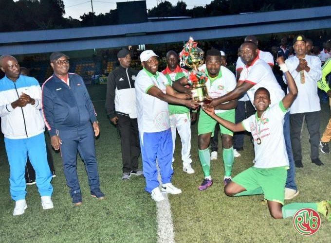 L'équipe Musongati FC remporte la coupe du Président