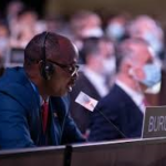 110ème session du Conseil Permanent de la Francophonie (CPF). Déclaration du Burundi par SEM Ernest NIYOKINDI, Ambassadeur du Burundi et Représentant Personnel du Chef de l'Etat auprès de la Francophonie PARIS, le 08 juillet 2020
