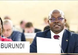 Déclaration de l'Ambassadeur, Représentant permanent de la République du Burundi à Genève