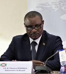 Nouvelle interview avec S.E. l'Ambassadeur Thérence Ntahiraja