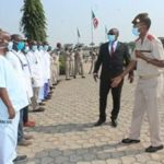 Le MDNAC visite l'Hôpital Militaire de Kamenge