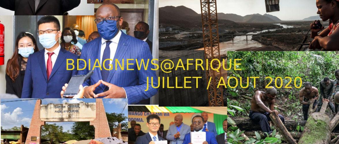 BURUNDI /  Petit tour sur l'actualité sur KAMA ou l' AFRIQUE , AFRICA – AOUT 2020