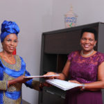 Remise et reprise cordiale à l'institution de la 1ère Dame / BURUNDI