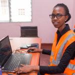 Une ingénieure, patronne de ACOMUSEC / BURUNDI