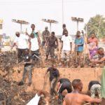 Travaux de Développement Communautaire - Rendre propre une parcelle de MUKAZA, BUJUMBURA MAIRIE / BURUNDI