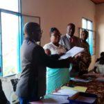 NTAHOMVUKIYE Geneviève, nouvelle administrateure de la commune KANYOSHA, BUJUMBURA / BURUNDI