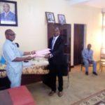 HARIMENSHI Dismas, nouveau administrateur de la commune MUBIMBI, BUJUMBURA / BURUNDI