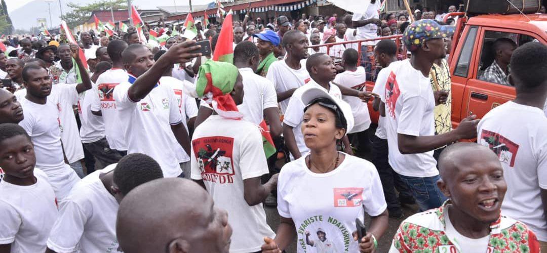 L' IMBONERAKURE DAY 2020 en MAIRIE DE BUJUMBURA / BURUNDI