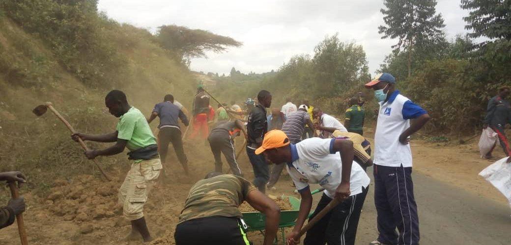 TDC – La commune BUKEYE réalise des travaux d'entretien de la RN1 / BURUNDI