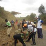 TDC - La commune BUKEYE réalise des travaux d'entretien de la RN1 / BURUNDI