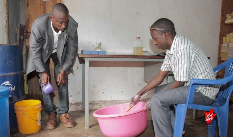 Une entreprise fabriquant du beurre à BUJUMBURA / BURUNDI