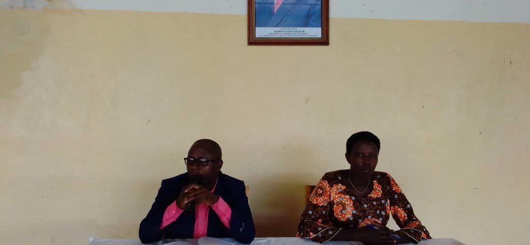 BANYIYEZAKO Boniface, nouveau administrateur de la commune CANKUZO / BURUNDI