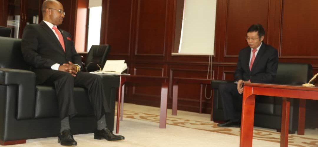 BURUNDI / CHINE : LI CHANGLIN rencontre le 1er Ministre BUNYONI