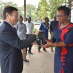 Don de la CHINE en équipements media de 80 Millions BIF / BURUNDI