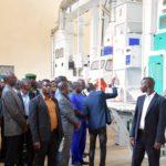 Inauguration  de  la rizerie SORIMU à MUHANGA, KAYANZA / BURUNDI