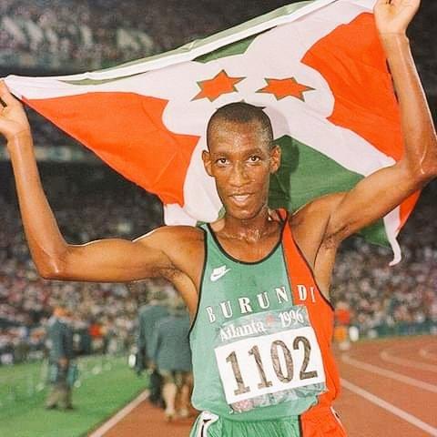 NIYONGABO Venuste, médaille d'OR ATLANTA 1996, est encore une fierté à MAKAMBA / BURUNDI
