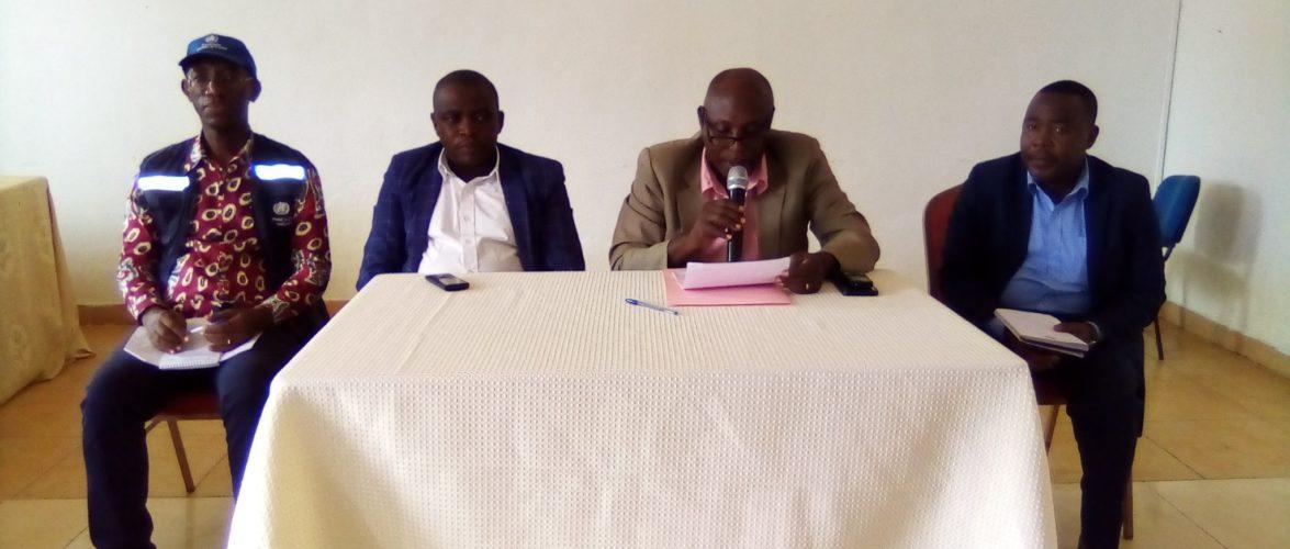 Réunion pour réaliser le bilan sanitaire 2019 à MWARO  / BURUNDI