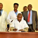 Inauguration du Labo de biotechnologie de l'ISABU à MWARO / BURUNDI
