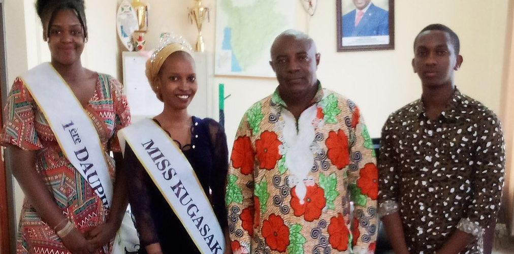 Visite de MISS chez le Gouverneur de NGOZI / BURUNDI