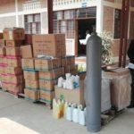 Don de matériels anti-COVID-19 à l'Hôpital AMAHORO DE BIRIMBA, RUMONGE / BURUNDI