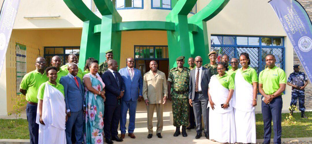 Inauguration d'une agence de la CECADM à RUMONGE / BURUNDI