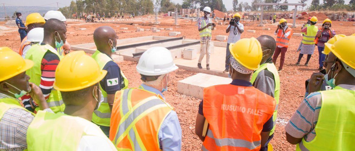RUSUMO FALLS – Le poste de transformation électrique de MUKONI, MUYINGA / BURUNDI