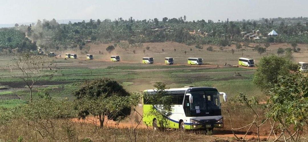 471 réfugiés Burundais rapatriés du RWANDA à KIRUNDO / BURUNDI
