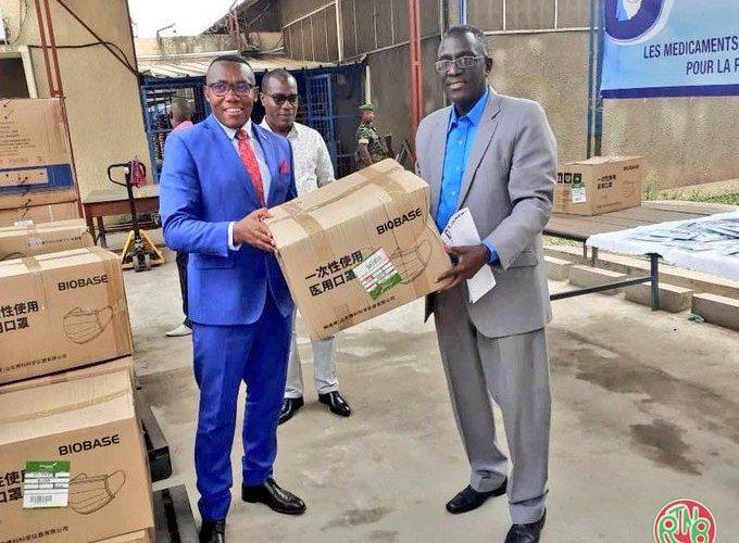 Le ministère de la santé accorde un don à la CENI