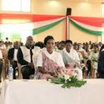 La première Dame rencontre la jeunesse de Ntahangwa