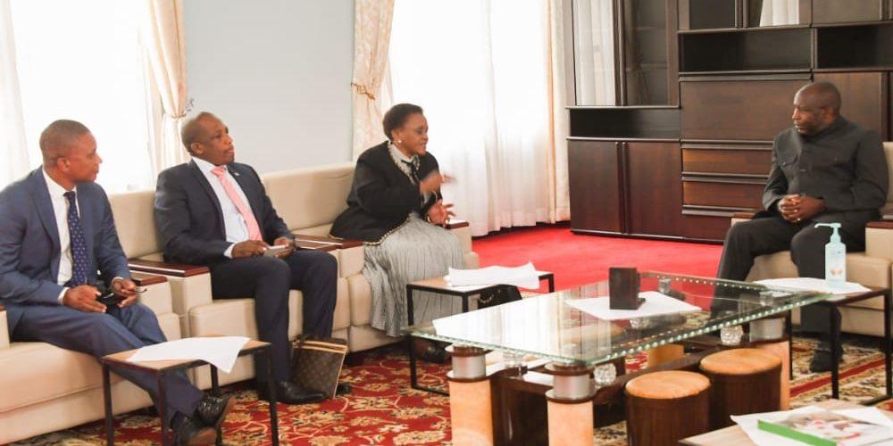 Le Chef de l'Etat reçoit en audience quatre diplomates